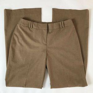 Ann Taylor Loft Womens Dress Julie Pants Beige 2